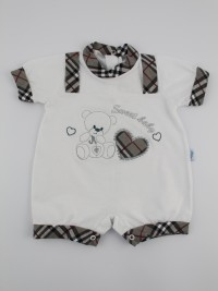 Picture baby footie straw boy sweet baby. Colour grey, size 0-1 month