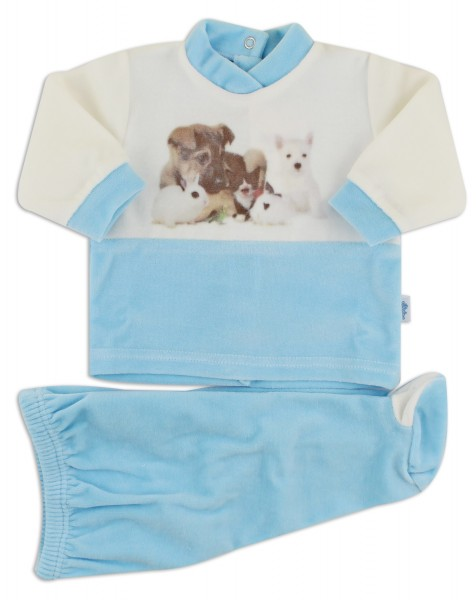 baby footie outfits tender puppies. Colour turquoise, size 0-1 month Turquoise Size 0-1 month