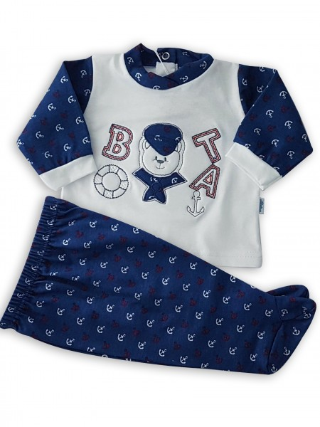 image baby outfit baby bear nostromo. Colour blue, size 1-3 months Blue Size 1-3 months