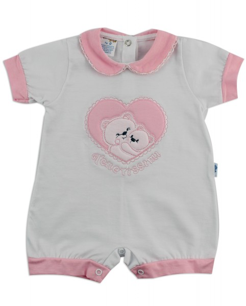 Image baby footie break very tender. Colour pink, size 6-9 months Pink Size 6-9 months