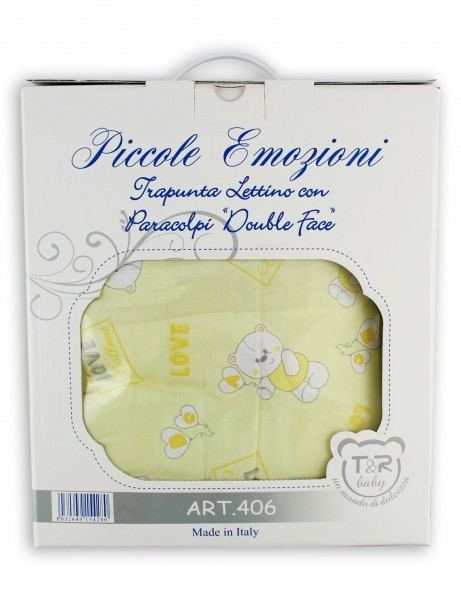 cotton love balloon bed layette. Colour yellow, one size Yellow One size
