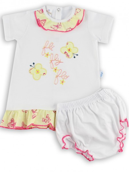 Picture baby footie outfit jersey le fli fly flo. Colour white, size 1-3 months White Size 1-3 months