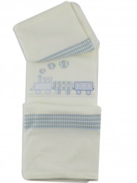 Image cover cradle in mixed wool train. Colour creamy white, one size