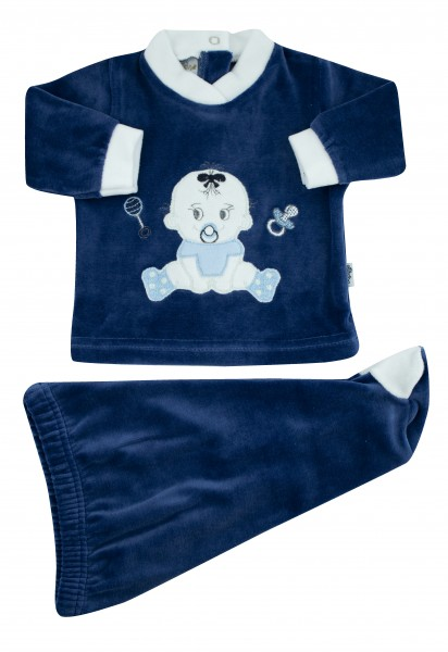 baby outfit baby sitting. Colour blue, size first days Blue Size first days
