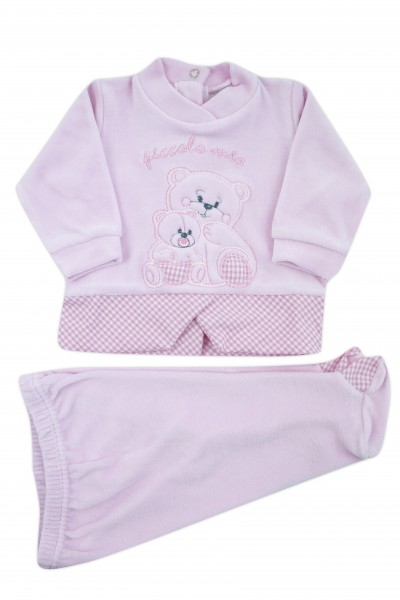 outfit small my chenille. Colour pink, size 0-1 month Pink Size 0-1 month