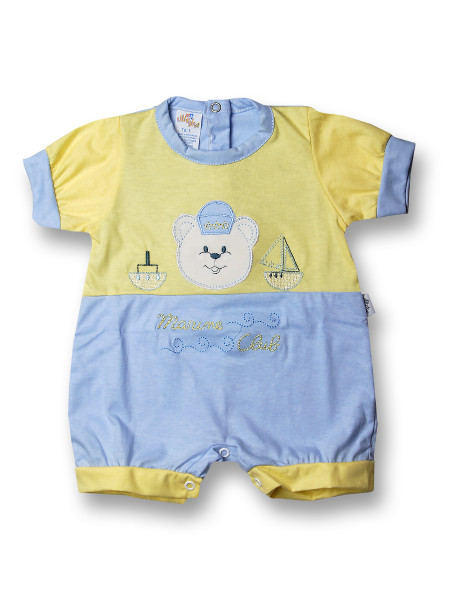 Romper marine club. Colour light blue, size 0-1 month Light blue Size 0-1 month