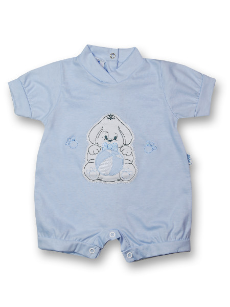 Doggy Romper and 100% cotton ball. Colour light blue, size first days Light blue Size first days