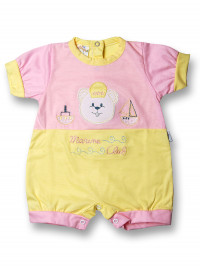 Romper marine club. Colour pink, size 3-6 months