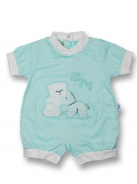 Romper hopla cotton pony. Colour green, size first days