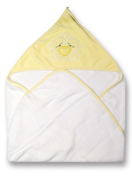 bathrobe triangle sweet hug. Colour yellow, one size Yellow One size