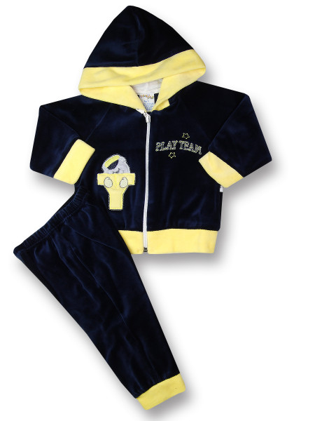 Baby outfit baby outfit 2 pcs play team. Colour blue, size 6-9 months