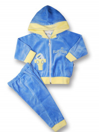 Baby outfit baby outfit 2 pcs play team. Colour light blue, size 1-3 months