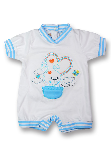 Baby Bunny Romper. Colour turquoise, size first days Turquoise Size first days