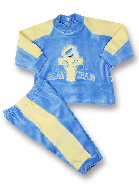 baby outfit baby outfit play team. Colour light blue, size 6-9 months Light blue Size 6-9 months