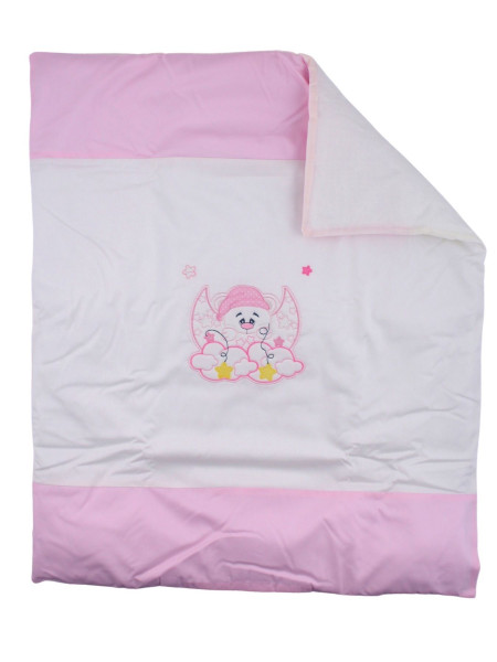 removable cotton cover sweet night cover. Colour pink, one size Pink One size