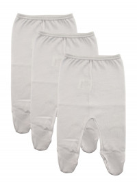 newborn baby cotton plush knickers. Colour white, size 1-3 months